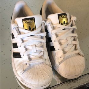 Little Girls adidas shoes